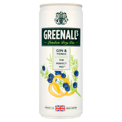 Greenalls Gin and Tonice